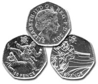 Great Britain's 2012 Olympics 50p Coin Series